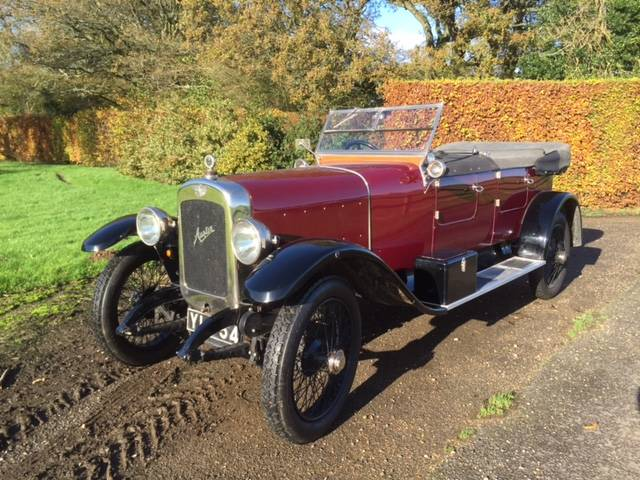 1923 austin 20 4 sports tourer now sold vintage and classic cars sold robin lawton. Black Bedroom Furniture Sets. Home Design Ideas