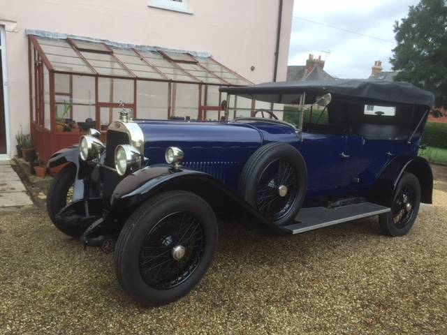 1924 Sunbeam 20/60 Tourer - Arriving Soon