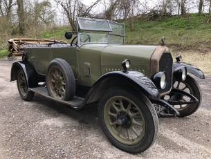1925 Humber 12/25 Tourer - 'Oily-Rag' Project