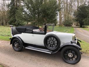 1927 Alvis TG 12/50 Three-quarter Coupe