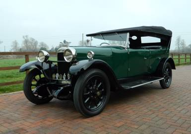 1927 Sunbeam 16 9 Tourer - Arriving Soon