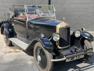 1928 Riley 9 Drophead Coupe with Dickey
