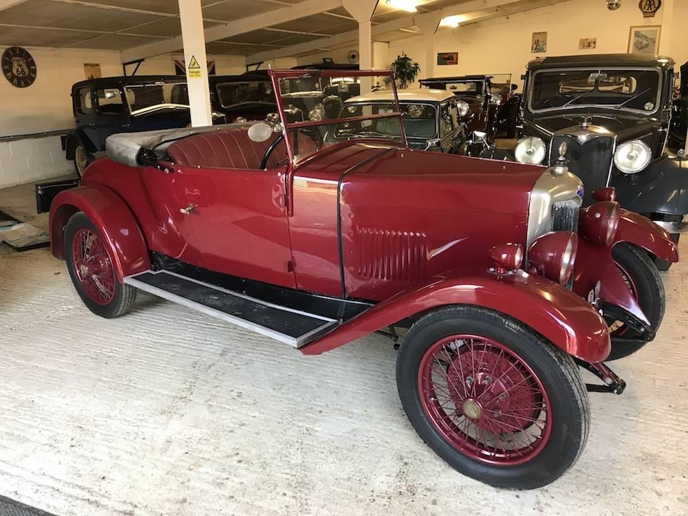 1929 Riley Nine Mk IV 2 Seat Tourer With Dickey Seat