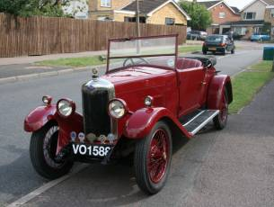 1929 Riley Nine Mk IV 2 seat tourer with dickey seat