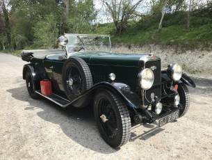 1930 Alvis Silver Eagle 16.95 TB Four Seat Tourer