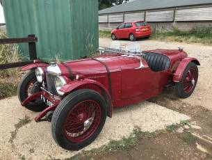 1930 Riley Nine 'Brooklands Evocation' built by Allen Clear