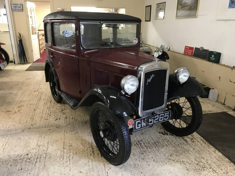 1931 austin 7 39 rm 39 saloon vintage and classic cars sold robin lawton. Black Bedroom Furniture Sets. Home Design Ideas
