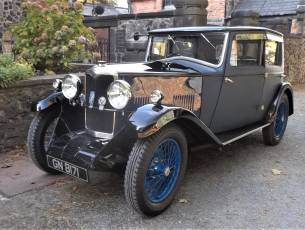 1931 Riley Alpine 14/6 Fabric Saloon