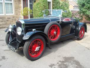 1932 Alvis 12/60 TL Beetleback - Now Sold