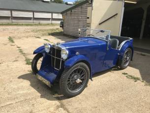 1932 MG J1 Four Seat Sports Tourer - Just Arrived Today!