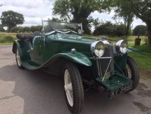 1932 Riley March Special Ex Works with Trials History - Now Sold