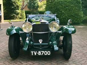 1933 Alvis Speed 20 'SA' Tourer - Current ownership over 52 years
