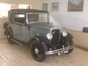 1933 Austin 10/4 Cabriolet - 80 years in one family - NOW SOLD