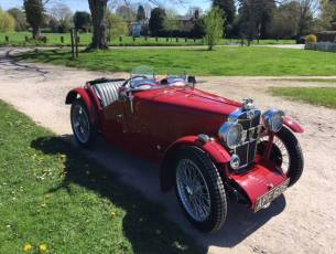 1933 MG J2 Midget - Pre-War Competition History