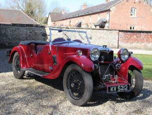 1933 Riley Nine Lynx with Pre-war competition history