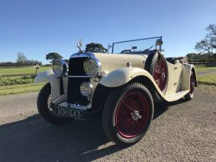 1934 Alvis Silver Eagle SF 16.95 Four Seat Tourer - A Fine Example!