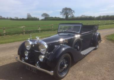 1934 Alvis Speed Twenty SC DHC (fitted Speed 25 Engine)