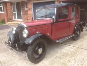 1934 Austin 10/4 De Luxe Saloon - Now Sold