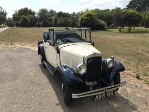 1934 Austin 10 two seater with Dickey Seat