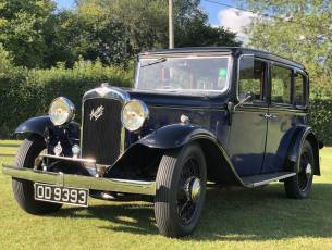 1934 Austin 16/6 Berkeley Saloon - in excellent condition
