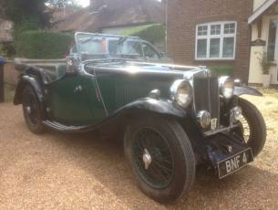 1935 MG Magnette NA four seat sports tourer - NOW SOLD