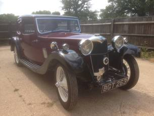 1934 Riley Nine Kestrel - NOW SOLD