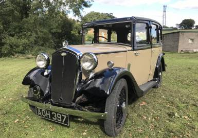 1934 Wolesley Nine Saloon - Restored to an excellent standard!