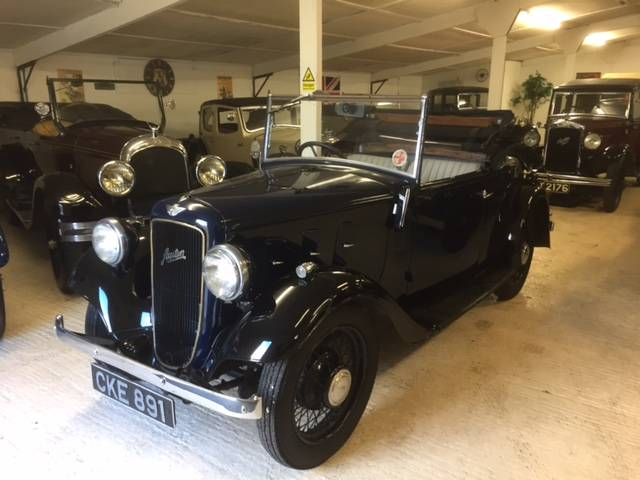 1935 Austin 10/4 Clifton Two Seat Tourer with Dickey