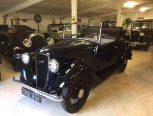 1935 Austin 10/4 Clifton Two Seat Tourer with Dickey - Now Sold
