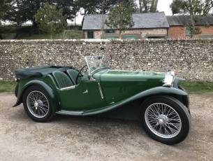 1935 MG PB Four-Seater Sports Tourer - Very rare model, totally restored - Video Clip