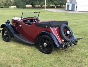 1935 Morris Eight Pre-Series Two Seat Tourer
