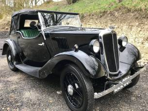 1935 Morris Eight Two Seat Tourer - 2 owners from new