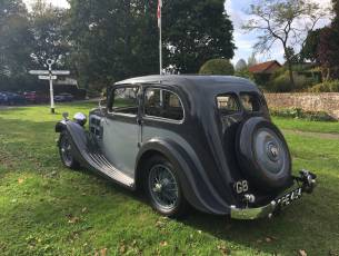 1935 Triumph Gloria G12 Coupe - Former concours winner
