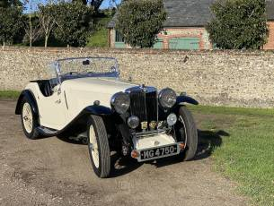 1936 MG NB MAGNETTE 'CRESTA' - with coachwork by E Bertelli