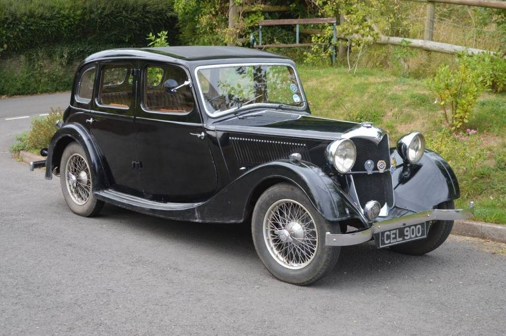 1936 Riley 12/4 Adelphi