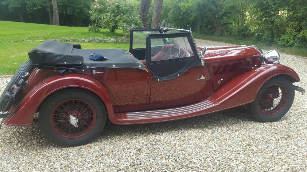 1936 Riley 12/4 Lynx - Previous owner for 51 years