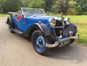 1936 Riley 12/4 Lynx - Now Sold