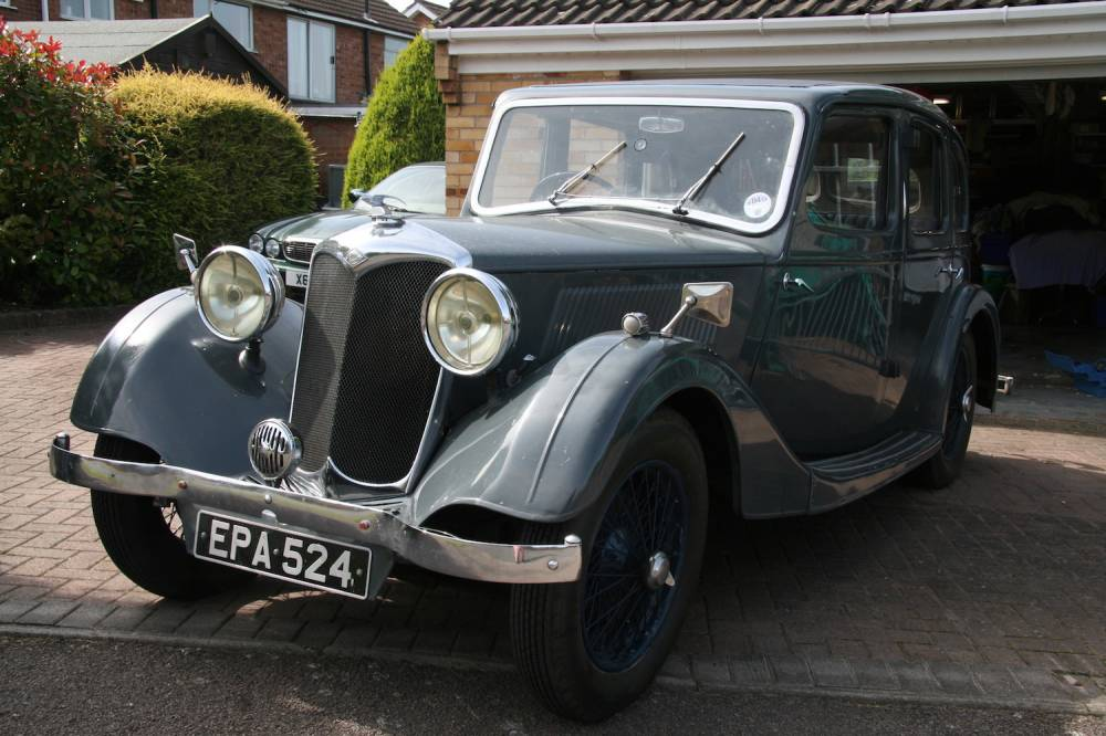 1936 Riley 124 Adelphi - Arriving Soon