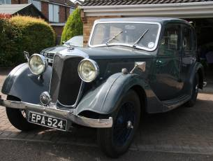 1936 Riley 12/4 Adelphi - Now Sold