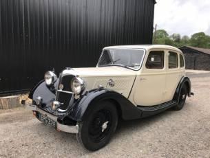 1936 Riley Adelphi  - present owner 55 years