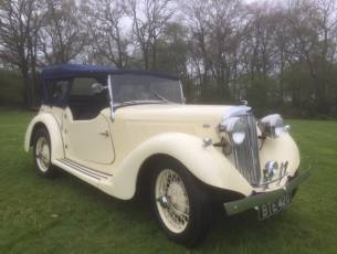 1936 Talbot Ten Sports Tourer - Now Sold