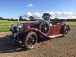 1937 Alvis Silver Eagle Tourer - Now Sold