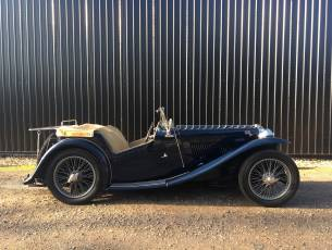 1937 MG TA - Excellent restored example with MG Registration