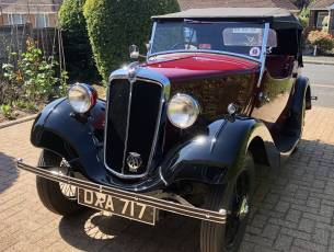 1937 Morris Eight Series I - Two Seat Tourer
