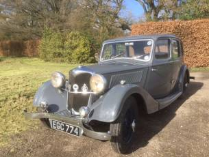 1937 Riley 12/4 Adelphi - Now Sold