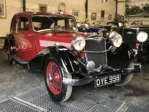 1937 Riley 12/4 Kestrel - Sought after Sporting Saloon - Requiring light recommissioning