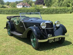 1937 Riley Lynx-Sprite - Major professional restoration