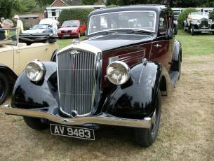 1937 Wolseley Super Six 25hp Series II - Superb!