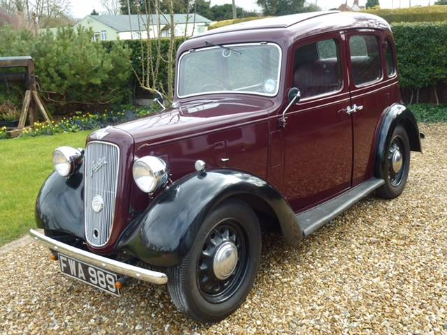 1938 Austin Big Seven 'Sixlite' - Arriving Soon