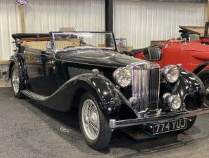 1938 MG SA Tickford Drop Head Coupe